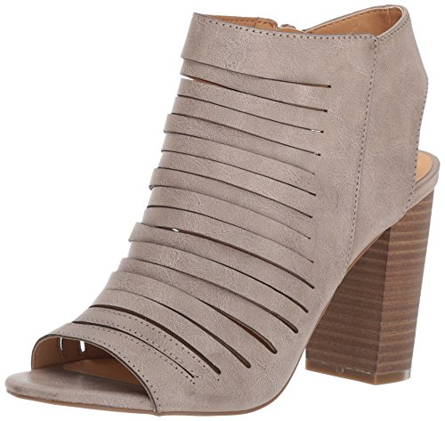 Madden Girl Women Halo Dress Sandal Taupe Paris