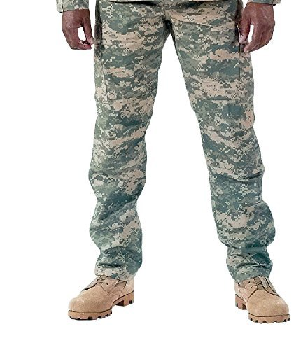 Camouflage Military BDU Pants, Army Cargo Fatigues for sale  Delivered anywhere in Canada