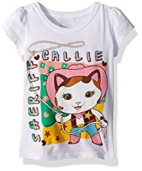 Disney Toddler Girls' Sheriff Callie, White, 3t
