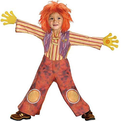 Deluxe Toddler Moe Doodlebops Halloween -