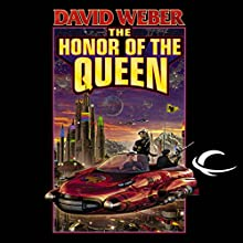 The Honor of the Queen: Honor Harrington, Book 2 Audiobook by David Weber Narrated by Allyson Johnson