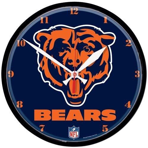 Wincraft Chicago Bears Clock - Chicago Bears Round Clock