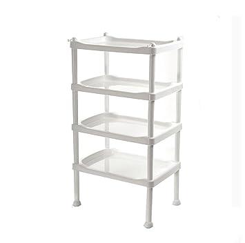 4-Schicht-Plastikbadezimmer-Regal-Badezimmer-Küchen ...