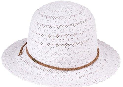 Lace Sun Hat - White (Lifeguard White Hat)