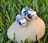 >All ceramic miniatures are produced from Thailand where we have with only the finest white clay and created, painted by the hands of craftsmanship .>These unique ceramic figurines are sure to become a treasured keepsake in your family ...