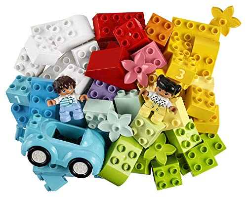 519ASsP5kNL - LEGO DUPLO Classic Brick Box 10913 First Set with Storage Box, Great Educational Toy for Toddlers 18 Months and up, New 2020 (65 Pieces)