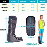 BraceAbility Tall Pneumatic Walking Boot