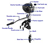 Outboard Motor 2.5 HP 2 Stroke Inflatable Fishing Boat Engine