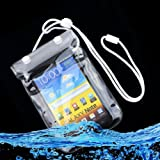 hs scrubs - Alicenter(TM) Mobile Phone Waterproof Dry Bag Case Transparent With Scrub for Smartphones