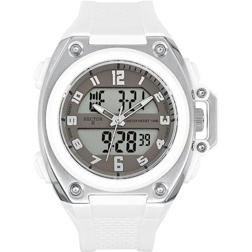 b8a08c763e11 Hector H 665236 - Reloj analógico y digital de cuarzo para hombre con  correa de plástico