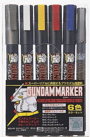 GSI Creos Gundam Marker Basic Set (6 Markers)