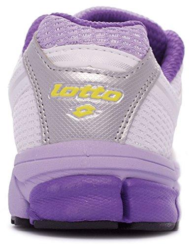 Lotto Sport ZENITH V W - zapatillas de running de goma mujer Blanco - White/Lillac P