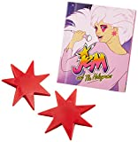 Jem and the Holograms: Light-Up Synergy Earrings and Illustrated Book (Miniature Editions)