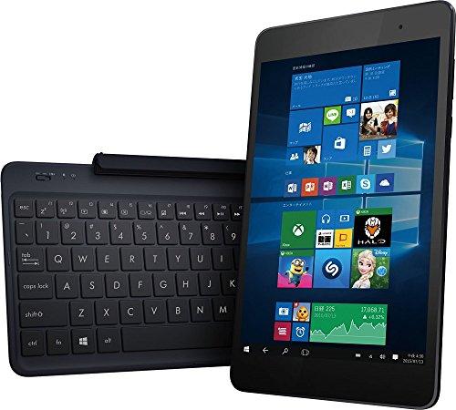 ASUS ノートブック TransBook T90Chi ( WIN10 Home 32Bit / インテル Atom Z3775 / 8.9インチワイド / 2G / 64G / ダークブルー ) T90CHI-3775