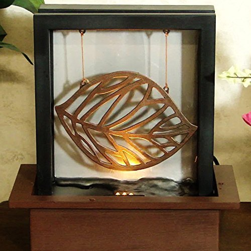 Reflections Tabletop Fountain - Envirascape Illuminated Reflection Tabletop Fountain