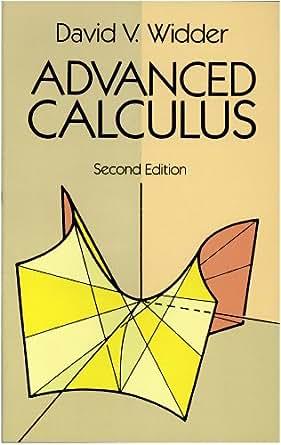 Advanced calculus widder