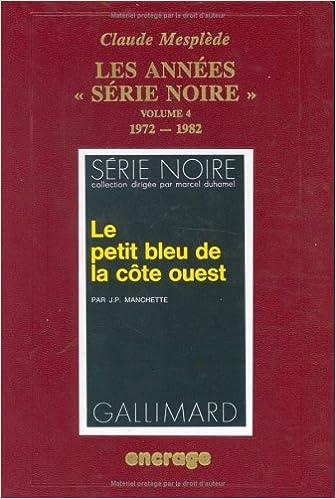 L'Année de la Série Noire, numéro 4 epub pdf