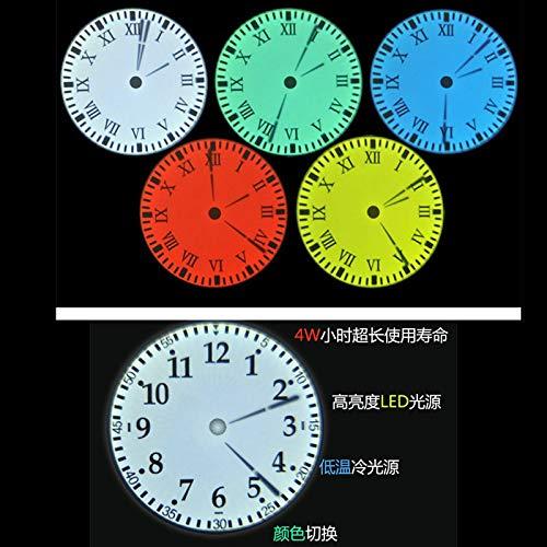 ZREED Despertador Reloj de Pared de la proyección del Reloj ...