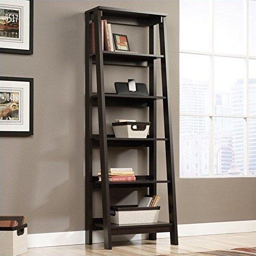 Sauder 5 Shelf Bookcase, Jamocha Wood (Sauder Espresso Bookcase compare prices)