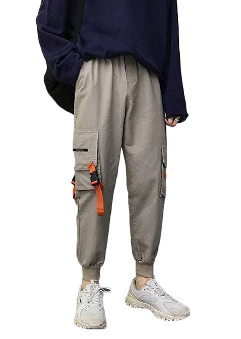 Adriat Mens Fit Cargo Jogger Multi Pockets Trousers Pants