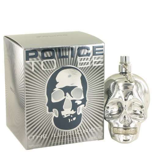 Police To Be The Illusionist by Police Colognes Eau De Toilette Spray 4.2 oz for Men + AZZARO by Loris Azzaro Vial (sample) .04 oz for Men