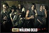 the walking dead season 5 poster - The Walking Dead - Framed TV Show Poster / Print (The Season 5 Cast) (Size: 36