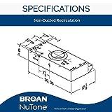 Broan-NuTone BUEZ230SS Broan Economy UC 190 CFM 30N