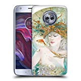 Official Stephanie Law Entertaining The Daydream Sea Creatures Hard Back Case Compatible for Motorola Moto X4