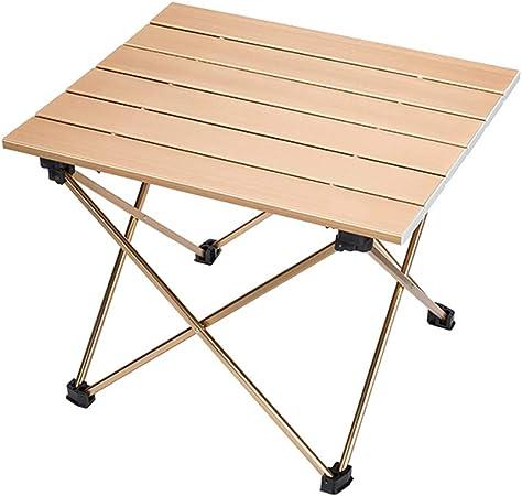 Mesa plegable al aire libre, mesa de picnic plegable, pequeña mesa ...