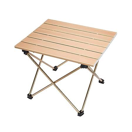 A-Fort Table Mesa plegable al aire libre, mesa de picnic plegable ...