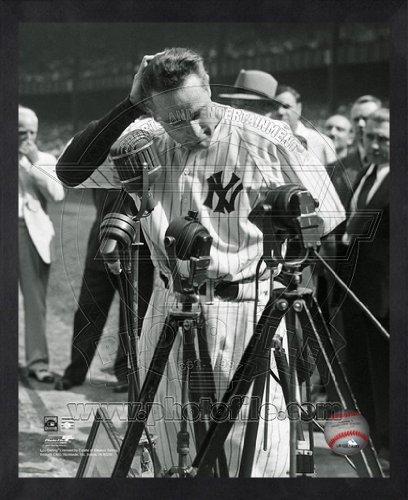 Lou Gehrig New York Yankees MLB Farewell Photo 16x20 Framed