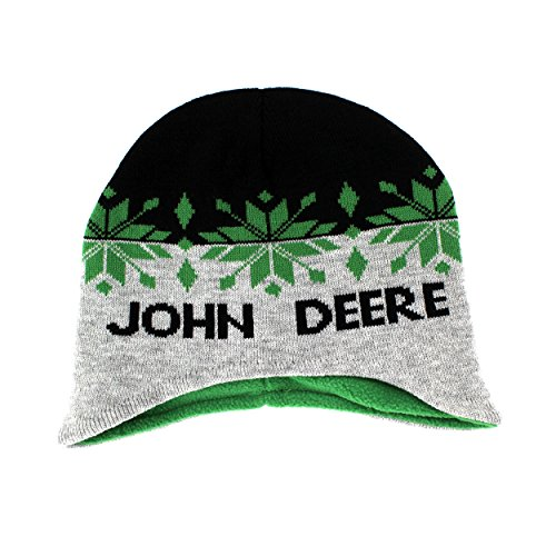 bc26302f86b John Deere Toddler Youth Beanie Knit Hat (One Size Youth