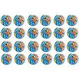 "24 Pack - Mini Globe Planet Earth Soft Foam Stress Ball Toy Novelties - (2.5"")"