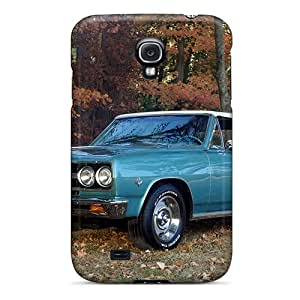 New Galaxy S4 Case Cover Casing(1965 Chevy Malibu)