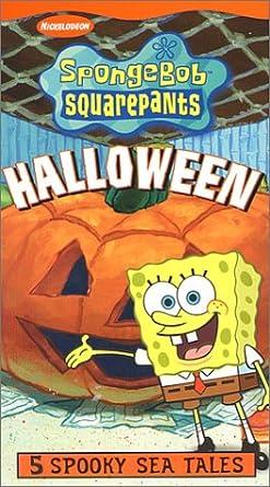 Amazon.com: SpongeBob SquarePants - Halloween [VHS]: Tom Kenny ...