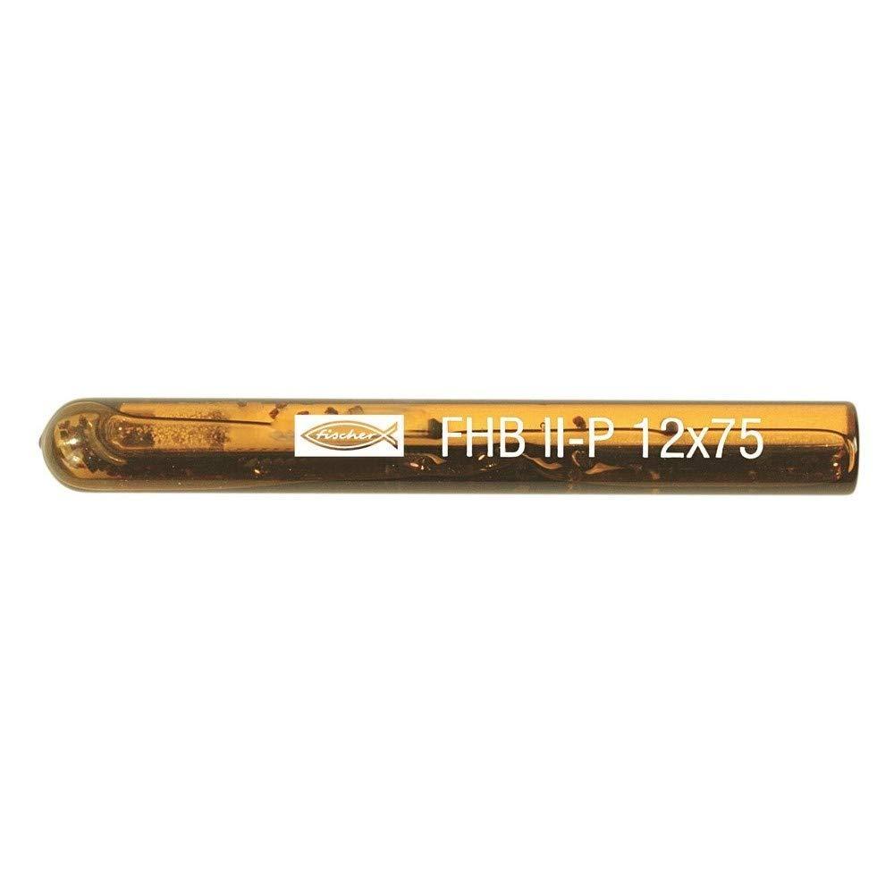 Ampolla quimica FHB II-P 20x210 Envase de 4 ud. FISCHER 096846