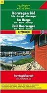 Road Map (en anglais) : Norwegen Süd par Freytag