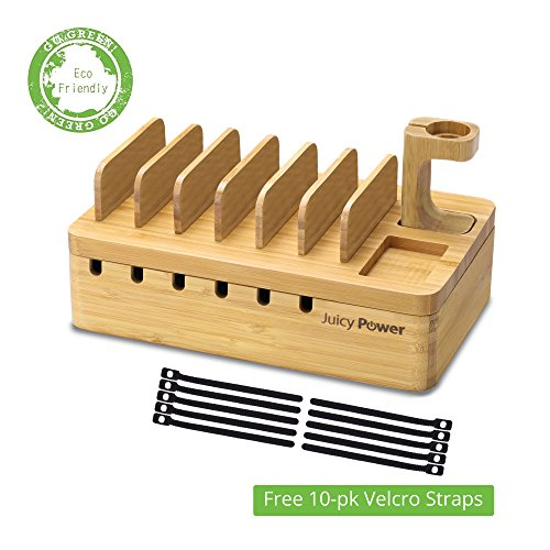 AVLT Power Bamboo Charging Station Eco Friendly