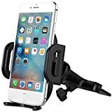 Vantrue CD slot car mount, Universal Quick Release Cell Phone Holder for iPhone 7 Plus/7/6S Plus/6Plus/6S/6/5s/SE/5, Galaxy S8/S7 Edge/S7/S6/S6 Edge/Note 5/4, Google Pixel/Pixel XL/Nexus 6/6P/5X/5