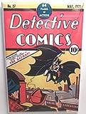 Detective Comics #27 Batman Vintage Comic Cover 2 x3' MAGNET Refrigerator Locker