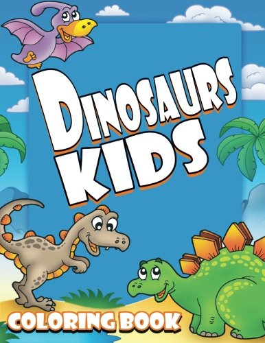Dinosaurs Kids Coloring Super Books product image