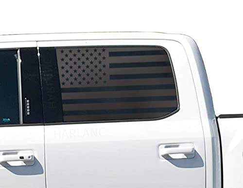 Amazon Com American Flag Decals For Ford F150 Crew Cab In Matte