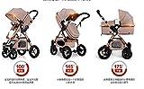 European Baby Stroller 3 in 1,Baby Pushchair ,High Landscape Fold Strollers for Children Travel System,Prams for Newborns