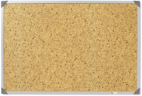 Post-it Tableau dAffichage Encadr/é 90 x 120 cm Brun Imitation Li/ège Surface Repositionnable
