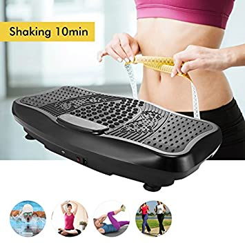 Evokem NEWS Hurtle Vibrating Platform Exercise Machines as Equipment For Home to Balance Your Weight with Remote Controller Balance Straps US STOCK