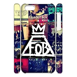 Personalized New Print Case for iPhone 5 5s 3D, Fall Out Boy Phone Case - HL-5475 5s19