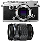 Olympus PEN-F Mirrorless Micro Four Thirds Digital Camera (Body) [Silver] + Olympus M.Zuiko ED 14-150mm f/4-5.6 II Lens