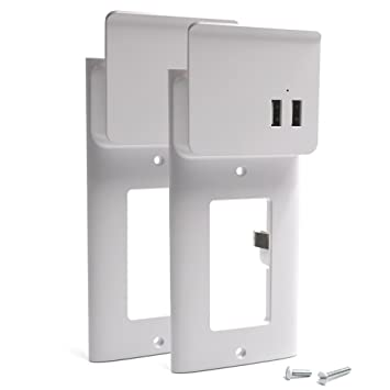 Amazon Usb Outlet Wall Plate Diy Outlets Cover. Usb Outlet Wall Plate Diy Outlets Cover Replacement With Dual Charging Ports. Wiring. Dual Outlet Wiring At Scoala.co