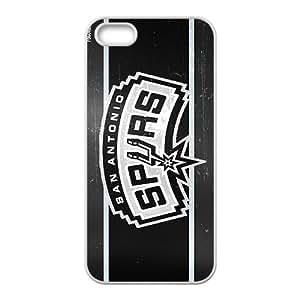 San Antonio Spurs NBA White Phone Case for iPhone 5S Case
