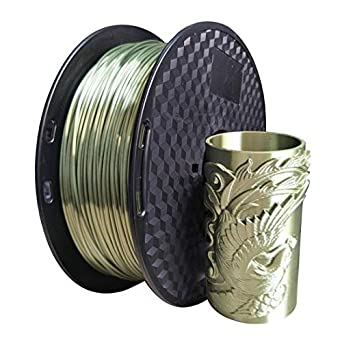 Filamento PLA de bronce de seda, 1,75 mm, filamento de ...